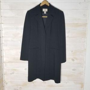 Nordstrom Blazer Long Black
